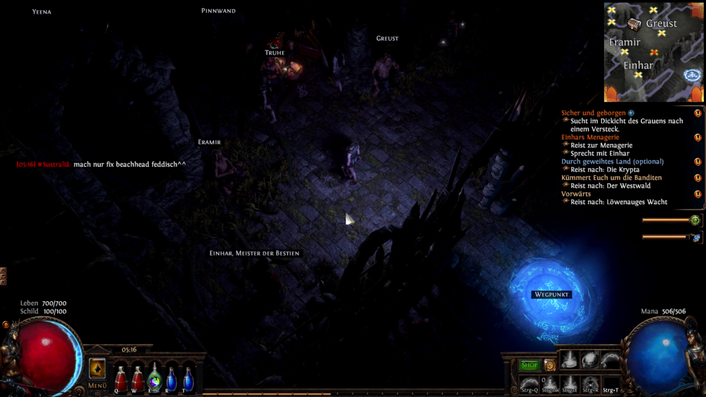 Path of Exile unter Chrome OS 2